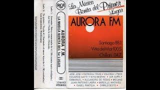 AURORA F.M. LA MÚSICA BONITA DEL 1ER LUGAR - VARIOS INTERPRETES (1990) CASSETTE FULL ALBUM