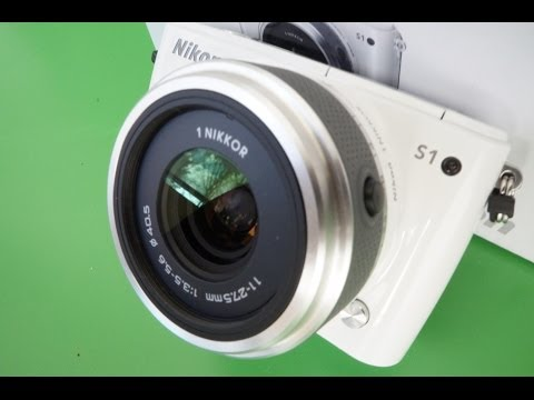 Nikon 1 S1 UNBOXING and Hands On