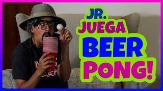 Daniel El Travieso - Abuelo Jr. Juega Beer Pong!