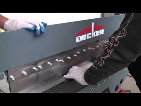 Сегментный листогиб Decker SU