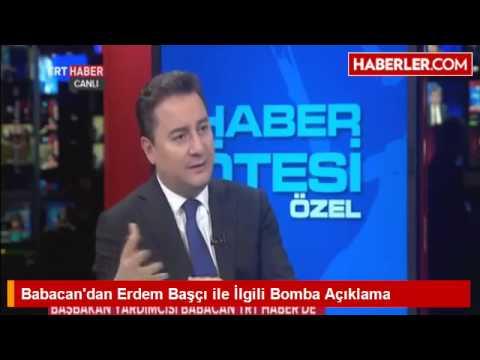 Download Babacan'dan Erdem Başçı ile İlgili Bomba Açıklama HD Mp4 3GP Video and MP3