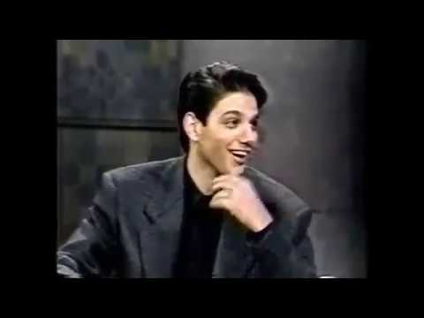 Ralph Macchio full interview on David Letterman (1992)
