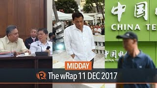 SC Justices in impeachment hearing, Fariñas on martial law, China Telecom | Midday wRap