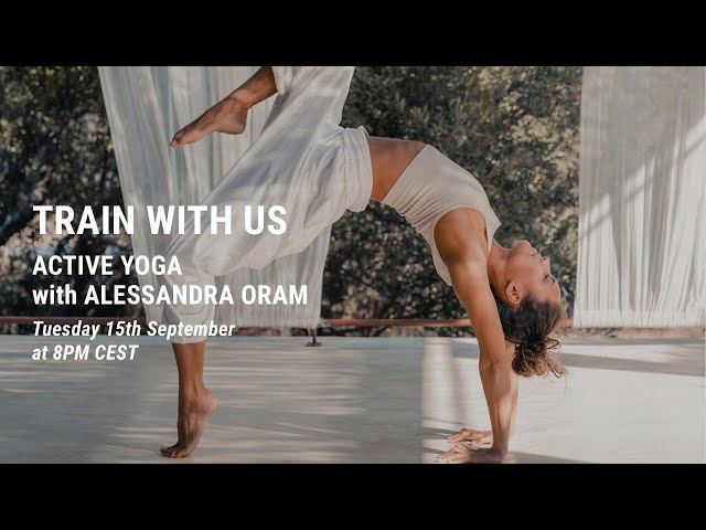 ACTIVE YOGA by Alessandra Oram (in English)