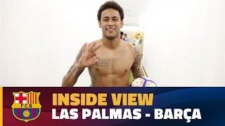 [INSIDE VIEW] UD Las Palmas - FC Barcelona (1-4)