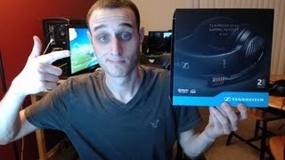 Sennheiser PC 363D Gaming Headset Unboxing, Review and Mic Test