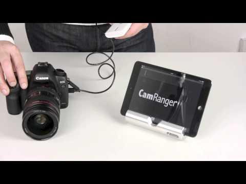 CamRanger wireless iOS Fernauslöser mit Live View - by www.enjoyyourcamera.com