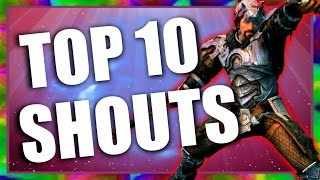 Top 10 Shouts in Skyrim Special Edition