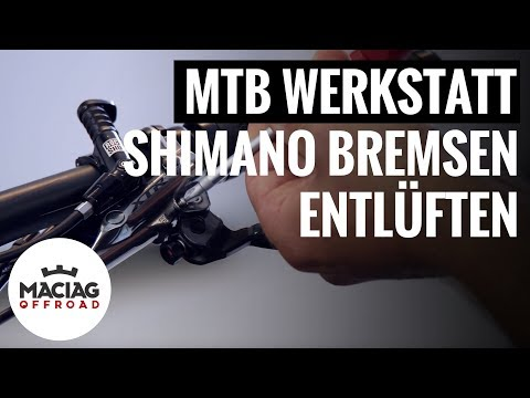 Shimano MTB Bremsen entlüften | Tutorial | Maciag Offroad Mountainbike Werkstatt
