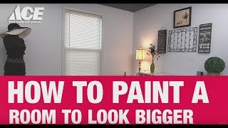 How To Paint A Small Bedroom To Look Bigger - Ace Hardware
