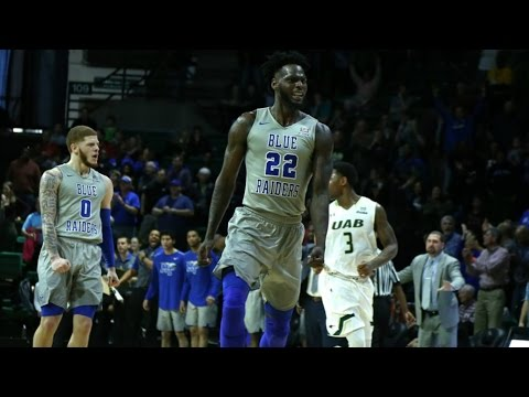 Middle Tennessee Clinches C-USA Title Outright