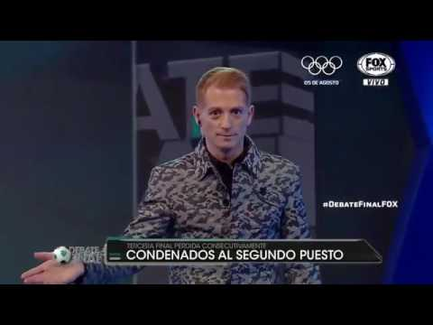 Martín Liberman Enojado Final Argentina VS Chile 2016