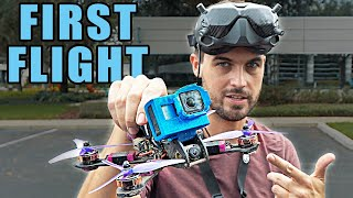 Exploring a NEW FPV Spot – First Flight RAW DVR