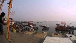 2014-12-19 Timelapse - River Ganges, Varanasi