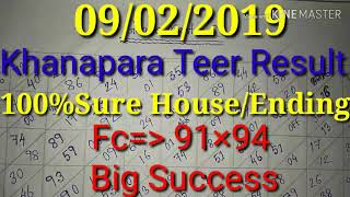 Khanapara Teer 14-01-2019 | Khanapara Teer Result