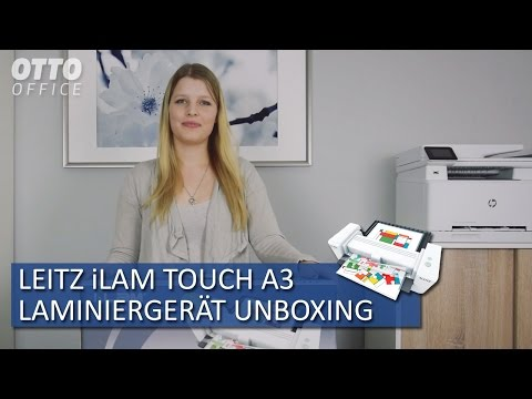Leitz Laminiergerät iLAM touch A3 Unboxing OTTO Office