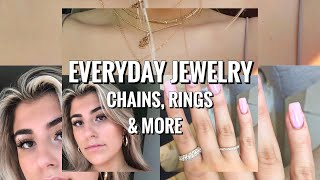 EVERYDAY JEWELRY; CHAINS, RINGS & MORE || Summer Jewelry Trends & Where To Buy Them