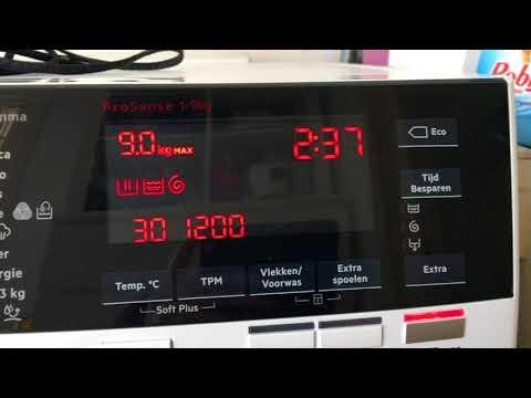AEG 9000 serie wasmachine L9FE96CS