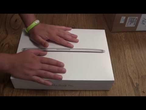 MacBook Pro Retina 13 2015 Unboxing und erster Eindruck