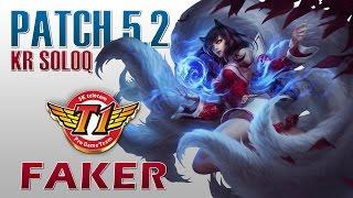 SKT T1 Faker - Ahri vs Leblanc - KR SoloQ