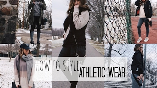 HOW TO STYLE: Athletic Wear | Casual + Comfortable
