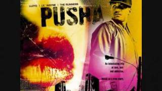 Lloyd (feat. Lil Wayne & Juelz Santana) - Pusha (Remix) [with Lyrics]