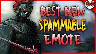 NEW CENTURION EMOTE! Best Spammable Emote!! [For Honor]