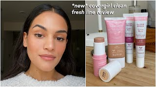 Covergirl Clean Fresh Line // Review And Wear Test