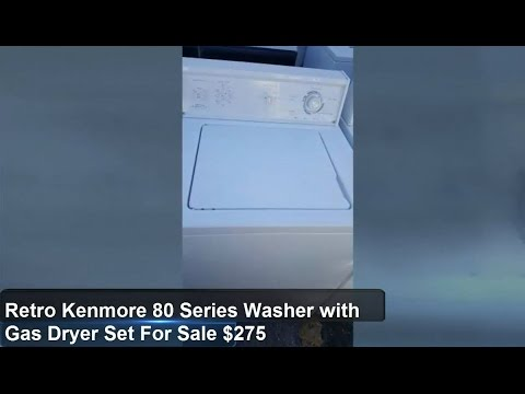 Gas Dryer new: Youtube Kenmore Gas Dryer