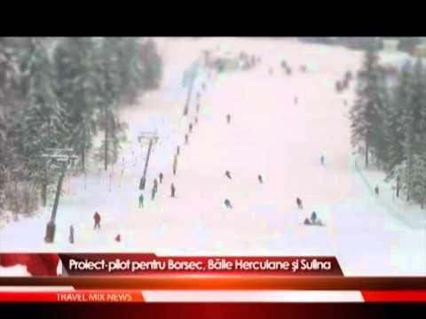 Proiect-pilot pentru Borsec, Băile Herculane şi Sulina