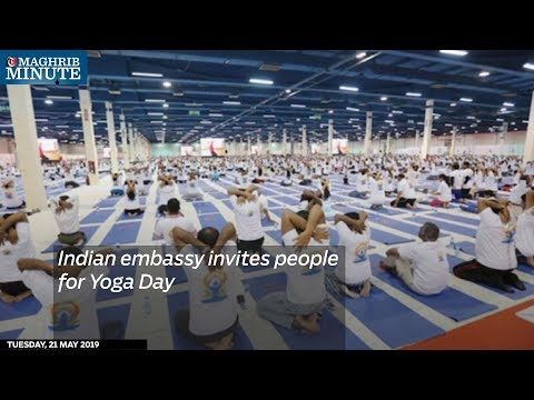 Indian embassy invites people for Yoga Day