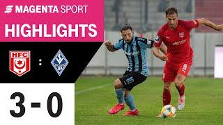 Hallescher FC - SV Waldhof Mannheim | 31. Spieltag, 2019/2020 | MAGENTA SPORT