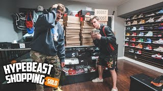 15 Year Old Millionaire Spends $14,000 Dollars Hypebeast Shopping!