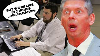 Why Vince McMahon Keeps Rewriting SmackDown At Last-Minute