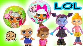 LOL Surprise Blind Bag Baby Doll Ball + Disney Vampire Girl Vampirina - Toy Video