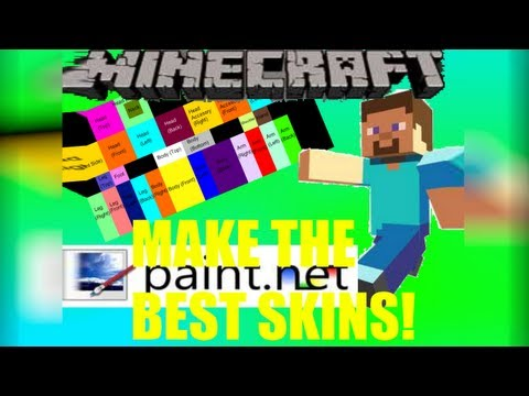 BEST way to make your own skins for Minecraft,