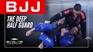 BJJ | An Introduction To The Deep Half Guard