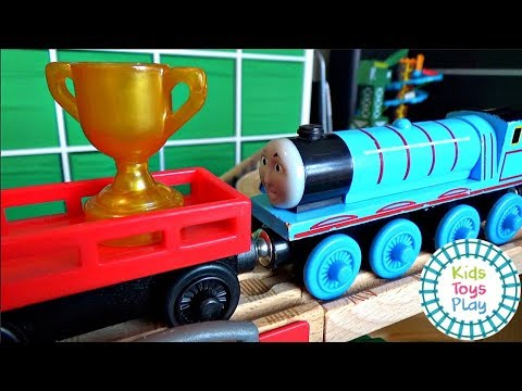 Thomas and Friends Wooden Railway | Accidents Happen | Sodor Storytime When Suddenly | Thomas Train!