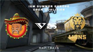 Emeritos Banditos Vs MAD Lions | IEM Summer Europe Open Qualifier |