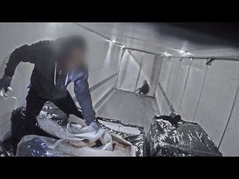 Criminals Try to Rob a Delivery Truck at 80k/ph