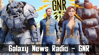 Fallout 4 - Galaxy News Radio GNR from Capital Wasteland in FALLOUT 4 With DJ Cerberus