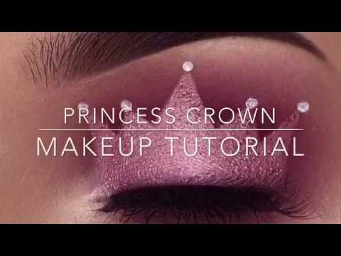 Crown Eyelid Makeup Tutorial