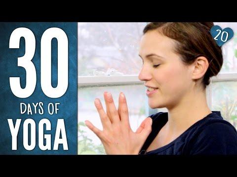 Dag 20 – Hjerte – 30 Days of Yoga