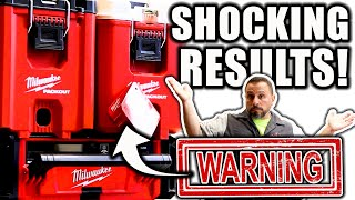 NEW Milwaukee PACKOUT COOLER Professionally Tested (SHOCKING RESULTS)