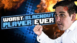THE WORST BLACKOUT PLAYER EVER!! HILARIOUS CHOKE! (Call of Duty: Blackout)