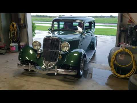 1933 Ford Two Door Moving Out