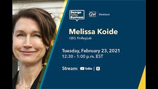 video - George Talks Business with Melissa Koide