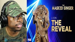 The Masked Singer - The Lion Performances And Reveal | Season 1 REACTION!