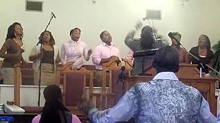 """Ado at Fellowship singing """"Oh, Lord We Bless Your Name"""""""