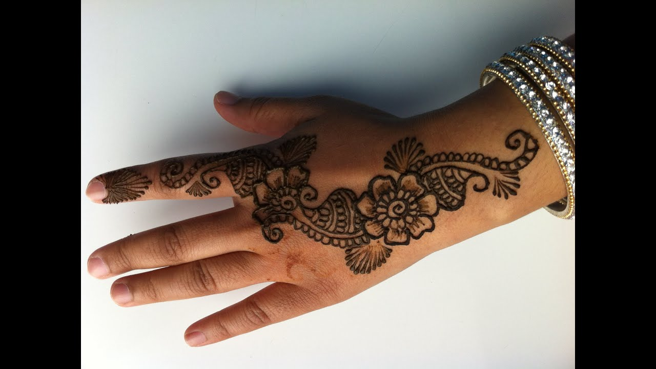Henna Tattoo How To : Learn how to do henna tattoos
